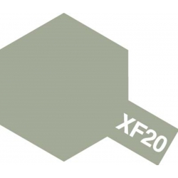 TAMIYA 81320 Peinture Acrylique 23ml XF-20 Gris Moyen Mat / Medium Grey