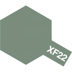 TAMIYA 81322 Peinture Acrylique 23ml XF-22 Gris Mat RLM / RLM Grey