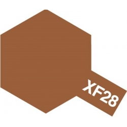 TAMIYA 81328 Peinture Acrylique 23ml XF-28 Cuivre Bronze / Dark Copper