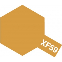 TAMIYA 81359 Peinture Acrylique 23ml XF-59 Jaune Désert / Desert Yellow