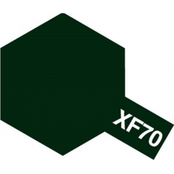 TAMIYA 81370 Peinture Acrylique 23ml XF-70 Vert Foncé 2 / Dark Green2