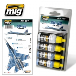 AMMO OF MIG A.MIG-7208 Acrylic Color SU-33 4x17ml
