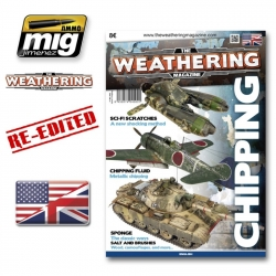 AMMO OF MIG A.MIG-4502 The Weathering Magazine Issue 3 Chipping English