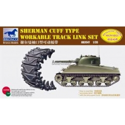 BRONCO AB3547 1/35 Sherman Cuff type workable tracks