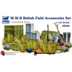 BRONCO AB3562 1/35 WW. II. British Field Accessories Set