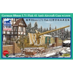 BRONCO CB35067 1/35 German 88mm Flak 41 Anti-Aircraft Gun w/ Crew