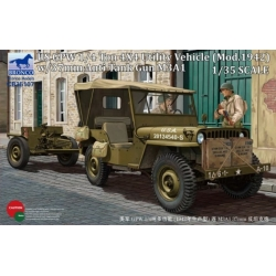 BRONCO CB35107 1/35 US GPW 1/4 ton 4x4 Utility Vehicle (Mod.1942)