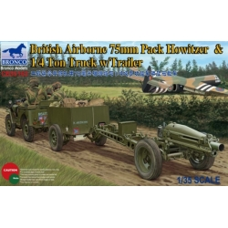 BRONCO CB35163 1/35 British Airborne 75mm Pack Howitzer