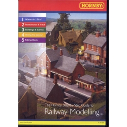 HORNBY R8125 OO 1/76 The Hornby Step By Step Guide To Railway Modelling CD-ROM