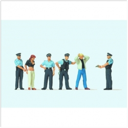Preiser 10589 Figurines HO 1/87 Under arrest