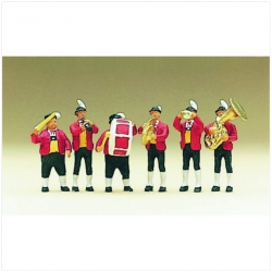 Preiser 10206 Figurines HO 1/87 Tyrolese band in national costume