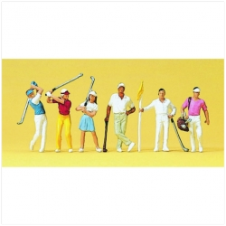 Preiser 10231 Figurines HO 1/87 Golfeurs – Golfers
