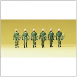 Preiser 10392 Figurines HO 1/87 Operation suit. Taking the lead. Germany