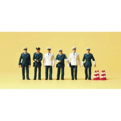Preiser 10422 Figurines HO 1/87 TV team