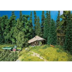 Faller 130299 HO 1/87 Hutte de montagne - Log cabin