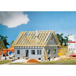 Faller 130303 HO 1/87 Maison en cours de construction - Detached house under construction