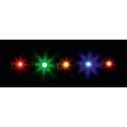Faller 180652 5 LED, de couleurs différentes - 5 LEDs, in different colours