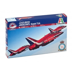 ITALERI 1303 1/72 Royal Air Force Red Arrows Hawk T1A