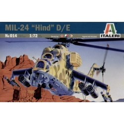 ITALERI 014 1/72 Mil-24 Hind-D Soviet Attack Helicopter