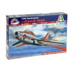 ITALERI 2703 1/48 Republic F-84F I Diavoli Rossi
