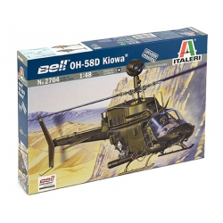 ITALERI 2704 1/48 Bell OH-58D Kiowa