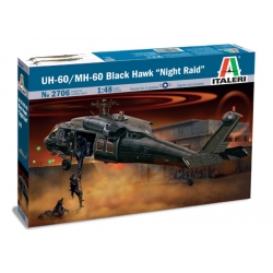"ITALERI 2706 1/48 UH-60 Black Hawk ""Night Raid"""