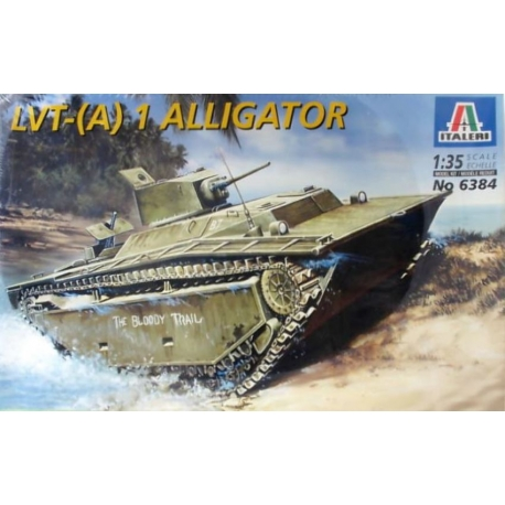 ITALERI 6384 1/35 LVT-(A) 1 ALLIGATOR
