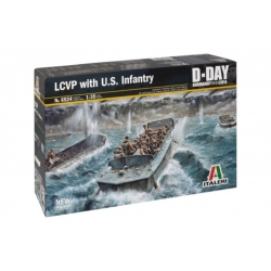 ITALERI 6524 1/35 LCVP with U.S. Infantry