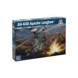 ITALERI 863 1/48 AH - 64D Apache Longbow
