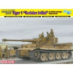 "DRAGON 6608 1/35 Tiger I Initial Production ""Tunisian Initial Tiger"""