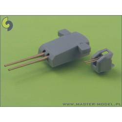 Faller 130476 HO 1/87 2 Silos industriels - 2 Industrial silos