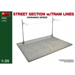 MiniArt 36040 1/35 Street Section With Tram Lines
