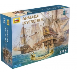 ZVEZDA 6505 1/100 Armada Invincible Art of Tactic Wargame