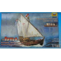 ZVEZDA 9005 1/100 Christopher Columbus Expedition Ship Niña