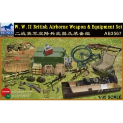 BRONCO AB3567 1/35W.W.II British Airborne Weapon & Equipment Set
