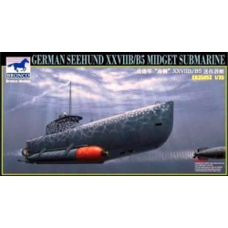 BRONCO CB35053 1/35 German Seehund XXVII B/B5 Midget Submarine (2 options in 1)