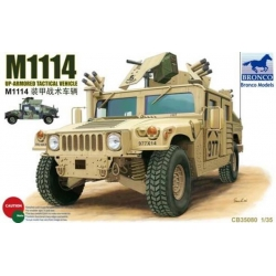 BRONCO CB35080 1/35 M1114 Up-Armored Tactical Vehicle