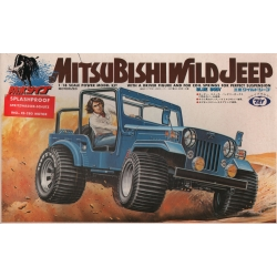 Marui MT80-OR12 1/18 Mitsubishi Wild Jeep