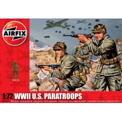 AIRFIX 1751 1/72 WWII U.S. Paratroops