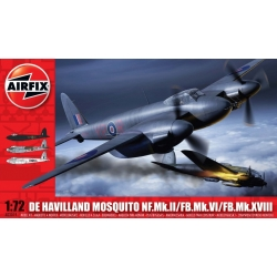 AIRFIX 3019 1/72 De Havilland Mosquito MkII/VI/XVIII