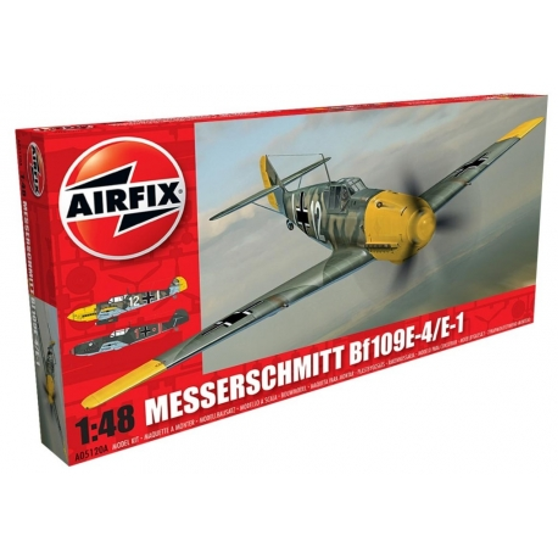 AIRFIX 5120A 1/48 Messerschmitt Bf109E-4/E-1