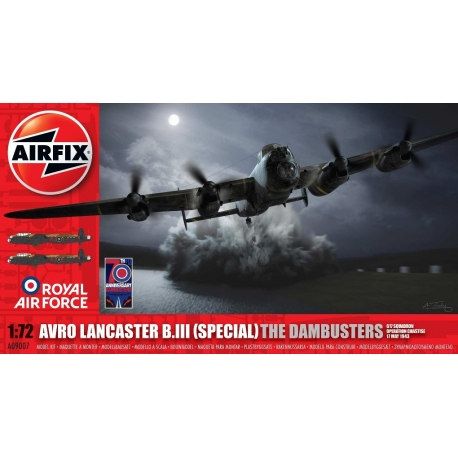AIRFIX 9007 1/72 Avro Lancaster B.III (Special) The Dambusters