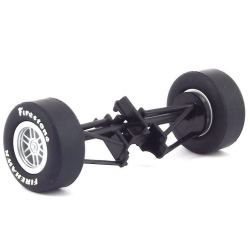 SCALEXTRIC W8753 Front Axle Assembly For Dallara Indy Car