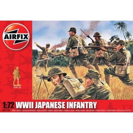 AIRFIX A01718 1/72 WWII Japanese Infantry