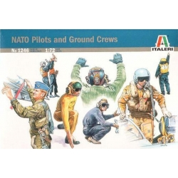 ITALERI 1246 1/72 NATO Pilots and Ground Crews