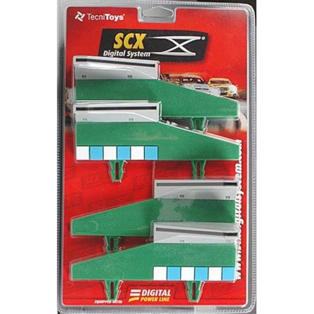 SCX 20050 Tapering Border With Barrier 2+2 Green
