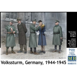 MasterBox MB35172 1/35 Volssturm Germany 1944-45
