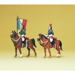 Preiser 10460 Figurines HO 1/87 Garde Républicaine