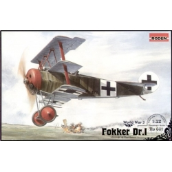 RODEN 601 1/32 Fokker Dr.I World War I
