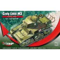 MIRAGE HOBBY 726072 1/72 U.S. Light Tank M3 'LUZON 1942'